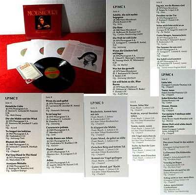 4LP Box Nana Mouskouri: Meine schönsten Lieder (Das Beste 85 010) D 1984
