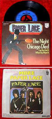 Single Paper Lace: The Night Chicago Died