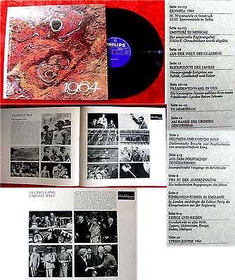 LP 1964 Chronik eines Jahres (Philips Hardcover) Rolf Mamero Heinz Ladiges