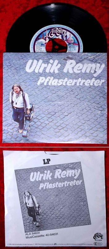 Single Ulrik Remy: Pflastertreter (Aladin ALA 9024) D 1980