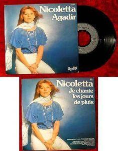Single Nicoletta: Agadir (Barclay 62 283) F 1977