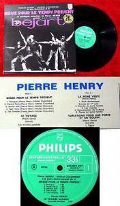 LP Pierre Henry: Messe Pour le temps present....
