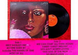 LP Gloria Gaynor: Glorious (Polydor 2417 314) D 1977