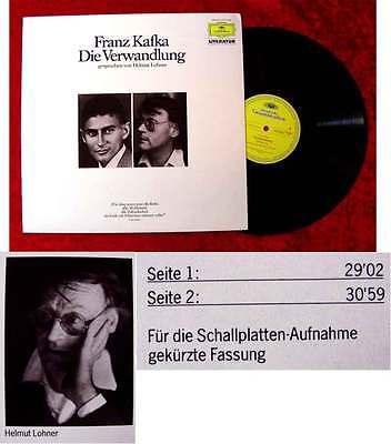LP Helmut Lohner: Franz Kafka - Die Verwandlung (DGG 2570 024) D 1983