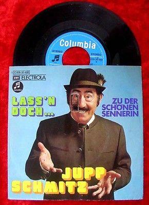 Single Jupp Schmitz: Lass'n doch....