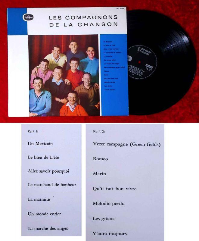 LP Les Compagnons de la Chanson (Columbia GHK 3502) NL
