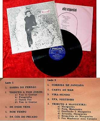 LP Elis Regina: Elis Especial (Philips 842 858 PY) Brasilien 1968