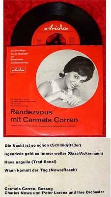 EP Rendezvous mit Carmela Corren