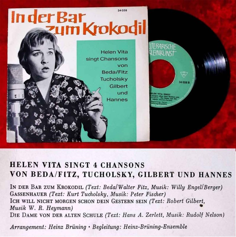 EP Helen Vita: In der Bar zum Krokodil (DGG 34 058) D 1966