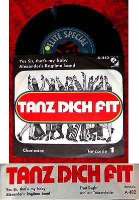 Single Ernst Kugler: Tanz Dich Fit 1 Charleston (Elite Special A-482) D