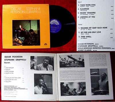 LP Oscar Peterson & Stephane Grappelli Quartet Vol. 1 (America 30 AM 6129) F