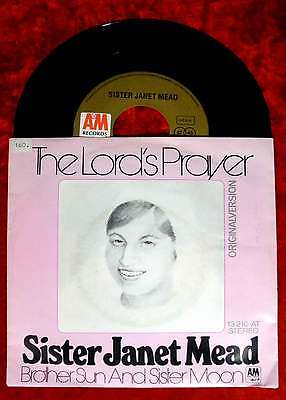 Single Sister Janet Mead: The Lord´s Prayer (A&M 13 210 AT) D 1973