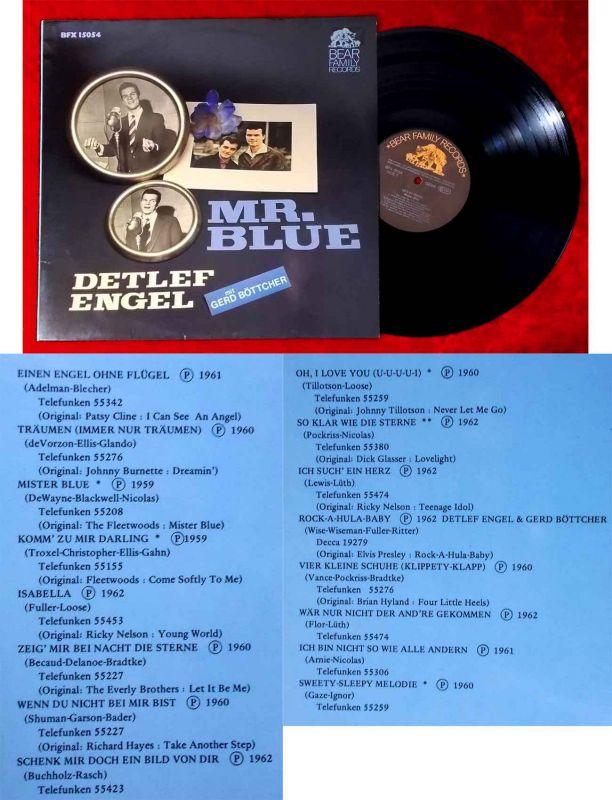 LP Detlef Engel: Mr. Blue (Bear Family BF 15054) D 1981