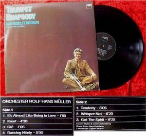 LP Maynard Ferguson: Trumpet Rhapsody w/Rolf Hans Mlle