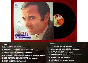 LP Charles Aznavour: La Mamma