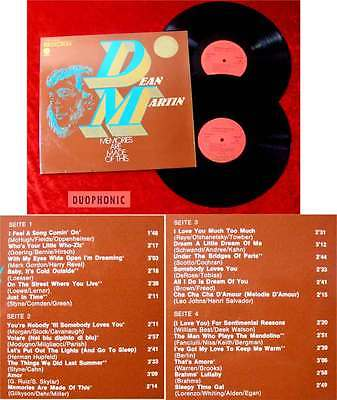 2LP Dean Martin: Memories are made of this