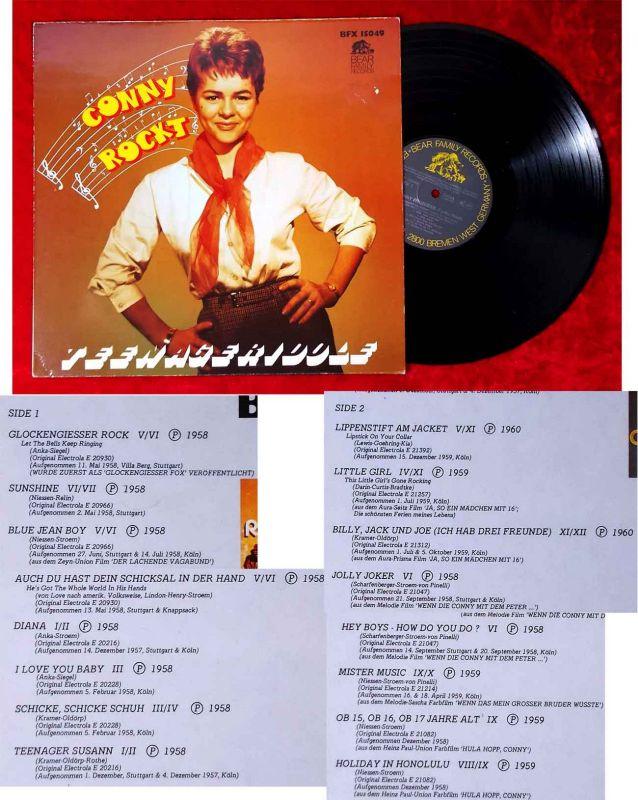 LP Conny: Conny Rockt - Teeangeridole (Bear Family BFX 15049) D 1979