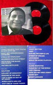 2LP Tony Bennett: Jazz (CBS 450 465-1) UK 1987