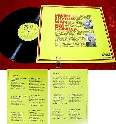 LP Nat Gonella: Mister Rhythm with Nat Gonella