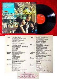 LP Fritz Schulz-Reichel: In einer Bar in Paris (Polydor 249 067) D 1966