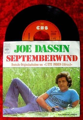 Single Joe Dassin Septemberwind