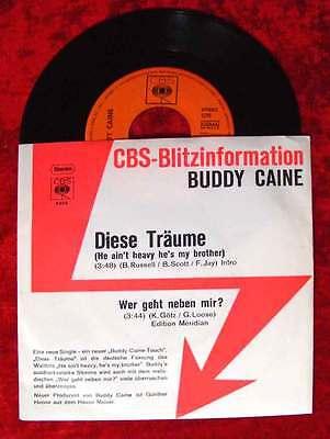Single Buddy Caine: Diese Träume CBS Blitzinfo 1971