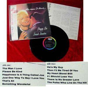 LP Peggy Lee & frank Sinatra: The Man I Love (Japan)