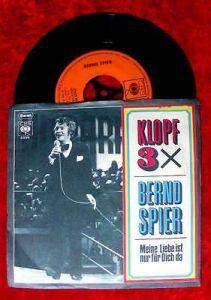 Single Bernd Spier: Klopf 3 x (Knock three times)