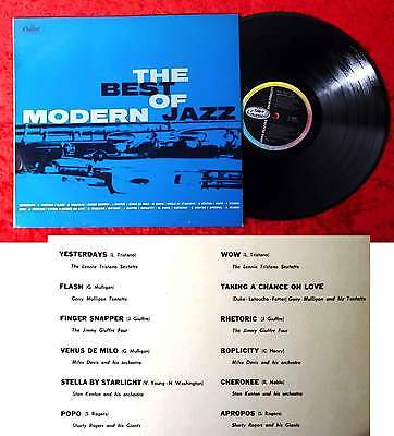 LP Best of Modern Jazz (Capitol T 20 187) Italien feat Lennie Tristano....