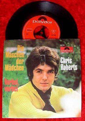 Single Chris Roberts: Die Maschen der Mädchen