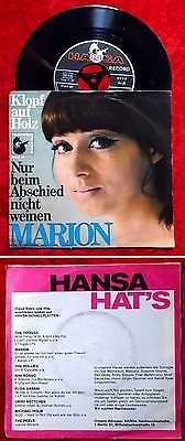 Single Marion: Klopf auf Holz (Hansa 19 610 AT) D