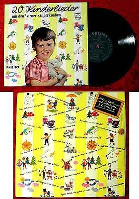 25cm LP Wiener Sängerknaben: 20 Kinderlieder mit... (Philips S 06199 R) D