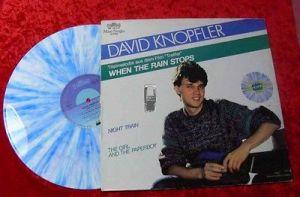 Maxi David Knopfler: When the Rain stops coloured vinyl
