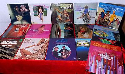 20 Langspielplatten KLAUS WUNDERLICH - Hammondorgel - Telefunken 1970er/1980er