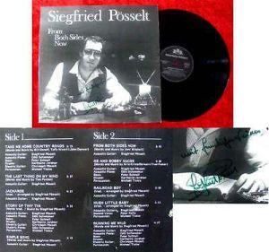 LP Siegfried Pösselt: From Both Sides Now Signiert