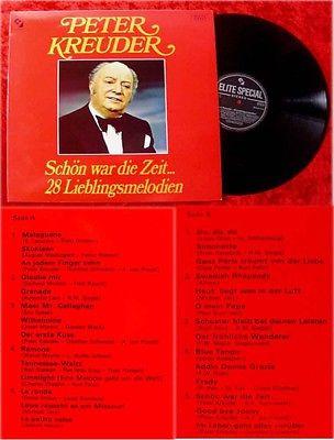 LP Peter Kreuder Schön war die Zeit