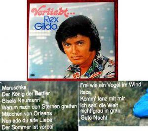 LP Rex Gildo: Verliebt... (Ariola 87 326 IT) Neuwertig