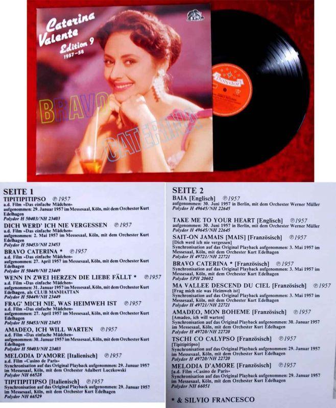 LP Caterina Valente: Edition 9 1957-58 (Bear Family BF 15299) D 1987