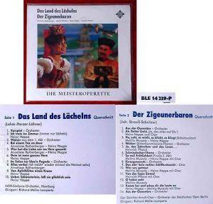 LP Land des Lächelns / Zigeunerbaron (Telefunken BLE 14 239-P) D