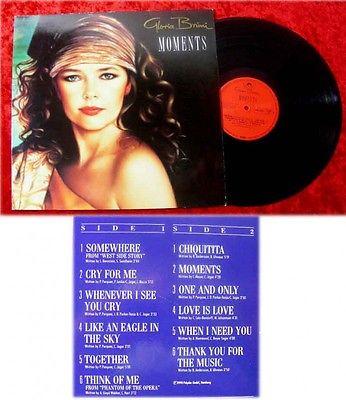 LP Gloria Bruni Moments Signiert Original Autogramm 198