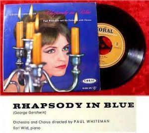 EP Paul Whiteman Rhapsody in Blue 1960 George Gershwin