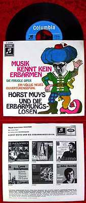 Single Horst Muys & die Erbarmungslosen: Musik kennt kein Erbarmen (Columbia) D