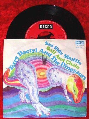 Single Terry Dactyl & Dinosaurs: Sea Side Shuffle