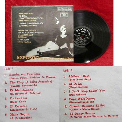 LP Exposito e sua Orquestra (RCA Victor LP-12-27012) Ecuador