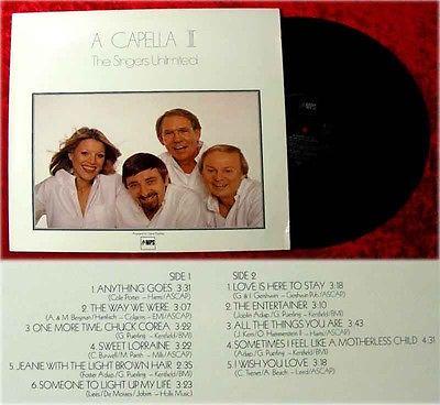LP Singers Unlimited A Capella III