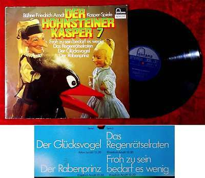 LP Der Hohensteiner Kasper 7 - Bühne Friedrich Arndt (Fontana 6434 137) D
