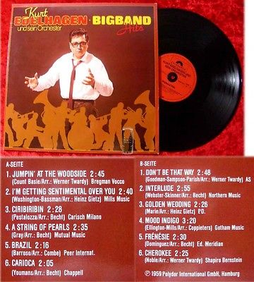 LP Kurt Edelhagen: Big Band Hits (1959)