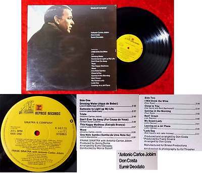 LP Frank Sinatra: Sinatra & Company (Reprise K 44 115) UK 1971