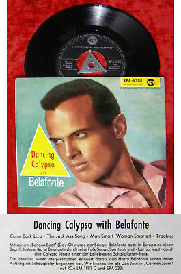 EP Harry Belafonte: Dancing Calypso with Belafonte (RCA EPA-9508) D