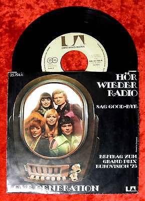 Single Love Generation: Hör wieder Radio (United Artists 35 794) D 1975